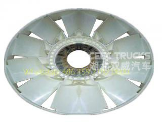 Beiben engine fan blade north benz 2534 2538 weichai engine fan blade