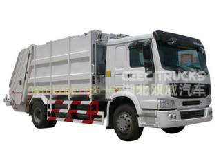 10 CBM Heavy type refuse compression truck all-wheel-drive model