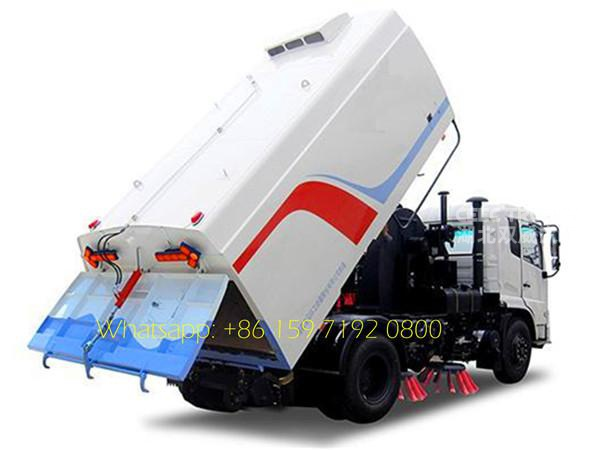 Popular 8CBM industrial road sweeper factory price