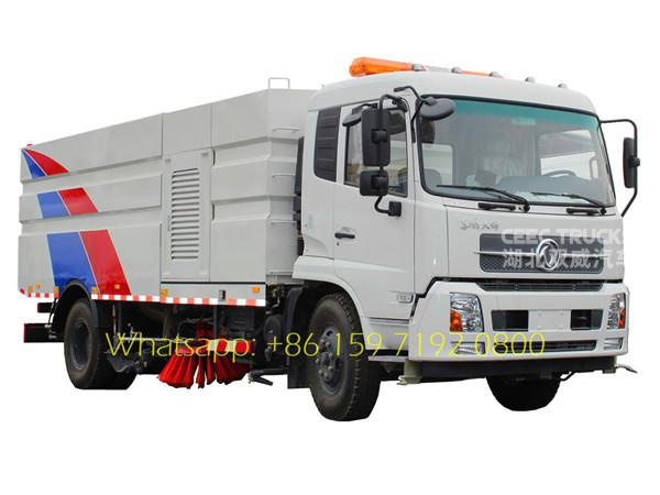 Dongfeng 4*2 dry-type road sweeper/dust cleaner road sweeper  manufacturer