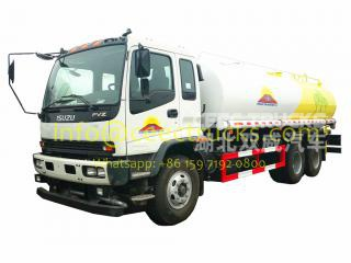 20CBM water distribution truck ISUZU brand for Mongolia