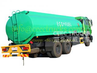 2016 produce Beiben 20CBM fuel tank truck on sale