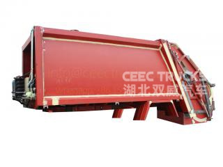 Low price sale 14000 Liters refuse compressed truck refit structure