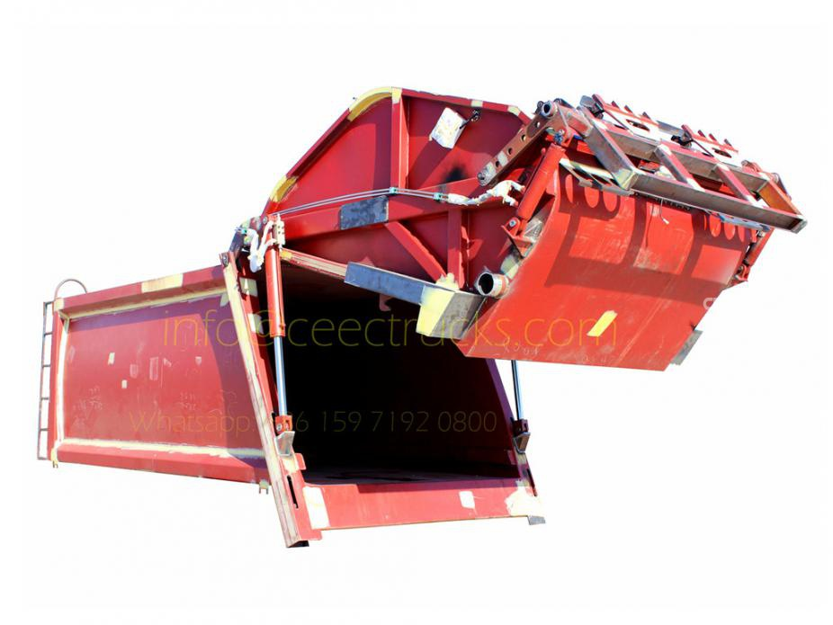 2017 new model 4CBM garbage compactor truck kit hot sale