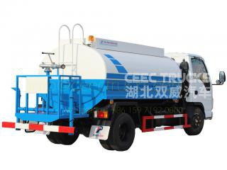 Factory price sale ISUZU 5,000 Litres water tanker truck