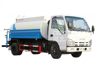 Low price ISUZU 5,000 Litres water bowser tanker truck