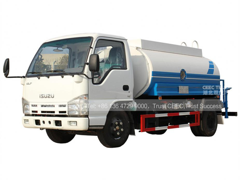 Manufacturer sale 5CBM water tanker truck low price