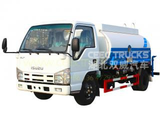 CEEC hot sale 5CBM water tanker truck low price