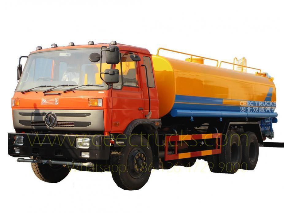 Dongfeng cheap price 20CBM water tanker truck