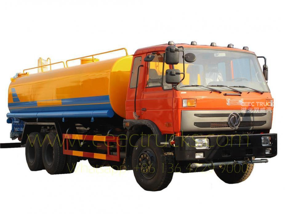 China 20CBM water sprinkler tanker truck hot sale