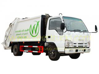 ISUZU 5cbm garbage compactor vehicle