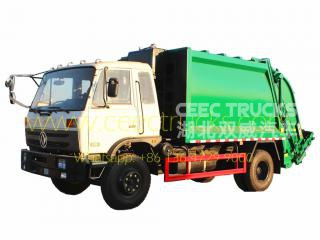 Famous China DongFeng 12 CBM waste compactor truck
