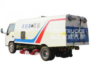 ISUZU 4CBM road sweeper vehicle on sale