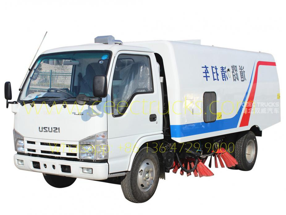 ISUZU 4CBM road sweeper low price
