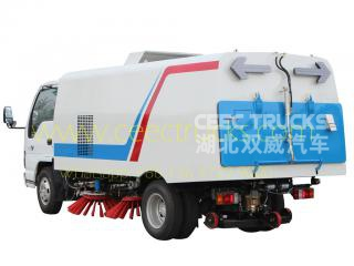 ISUZU 5 CBM road sweeper truck manufacturer