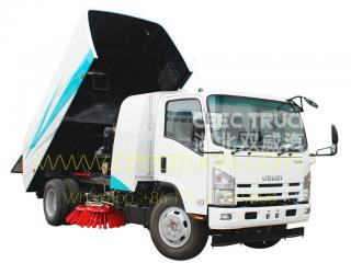 Best quality ISUZU 8000L road sweeper truck
