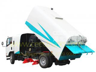 Low price ISUZU 8cbm road sweeper truck