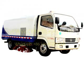 Dongfeng 5CBM road sweeper truck