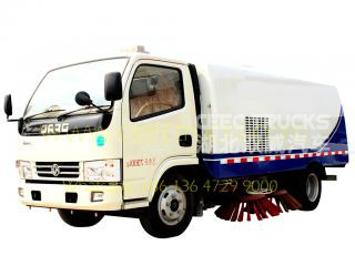 Dongfeng 5CBM road sweeper truck - CEEC