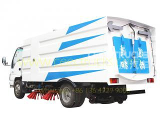 ISUZU 5 CBM road sweeper truck on sale