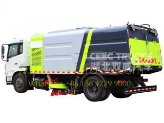 Dongfeng 12CBM road sweeper truck
