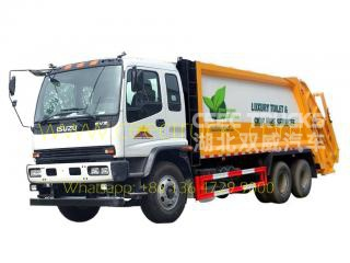Japan-tech 20 CBM garbage compactor truck
