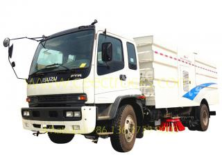 ISUZU 12CBM road sweeper truck - CEEC