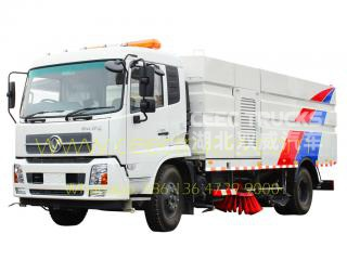 Dongfeng 12,000L road sweeper truck supplier