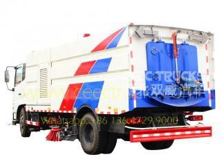 Dongfeng 12CBM road sweeper for Philippine
