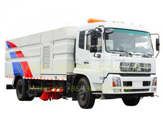 Dongfeng 12CBM road sweeper truck manufacture