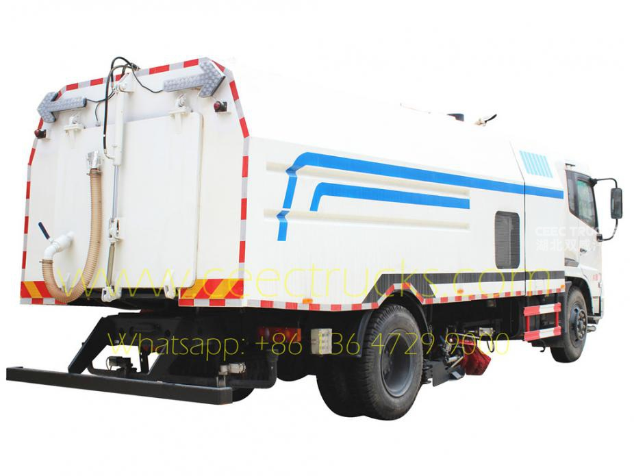 Dongfeng 12CBM road cleaning truck