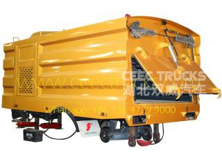 5000L road sweeper Superstructure