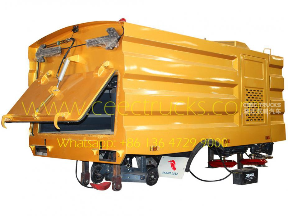 5000L road sweeper Superstructure export Asia country