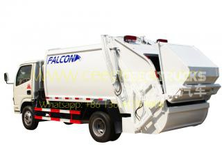 Low price Dongfeng 5CBM garbage compactor