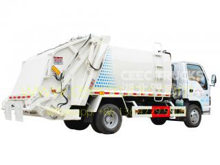 ISUZU 5000L garbage compactor truck supplier