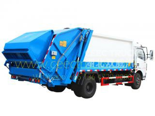 Dongfeng 8 cbm garbage compactor truck on sale
