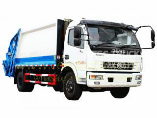 Dongfeng 8CBM garbage compactor truck on sale
