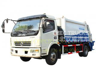 Dongfeng 7CBM garbage compactor truck HOT sale