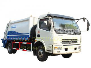 Dongfeng 7CBM garbage compactor truck price
