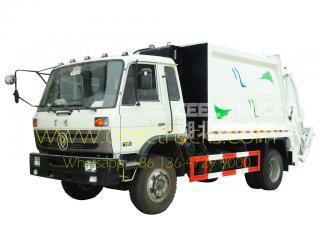10 cbm Dongfeng garbage compactor truck