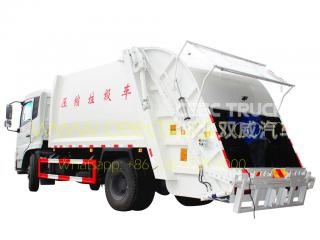 DongFeng 14 CBM rear loading compactor truck