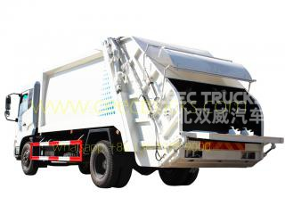 DongFeng 14 CBM garbage compactor truck