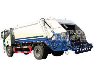 TOP quality FAW 12 CBM waste collection truck