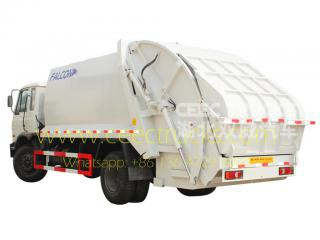 DongFeng 14 CBM trash compactor truck for sale