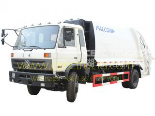 DongFeng 14 CBM waste compactor truck on sale