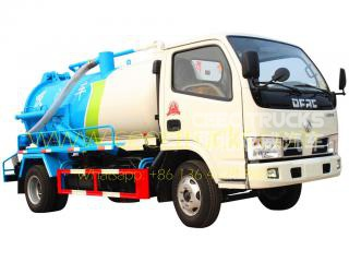 Dongfeng 4,000L Cesspit emptier low price