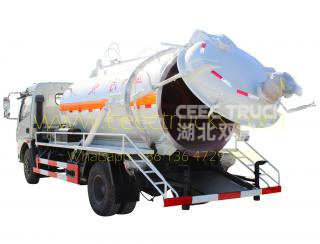 Dongfeng 6,000L Vacuum tanker