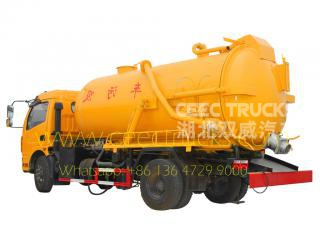 Dfac 6CBM septic suction pump truck