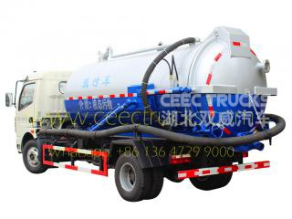 Dongfeng 8,000L Cesspool truck hot sale