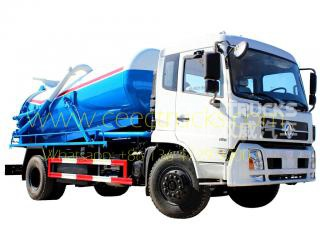 Dongfeng 10,000L vacuum sewer truck